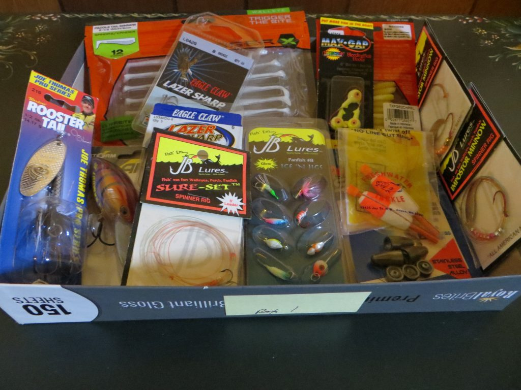 Assortment of Fishing Tackle (Box #1) by Tackle Terry Tuma