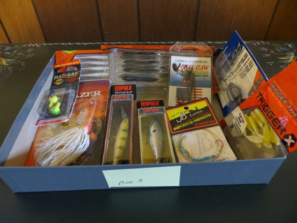 Assortment of Fishing Tackle (Box #3) by Tackle Terry Tuma