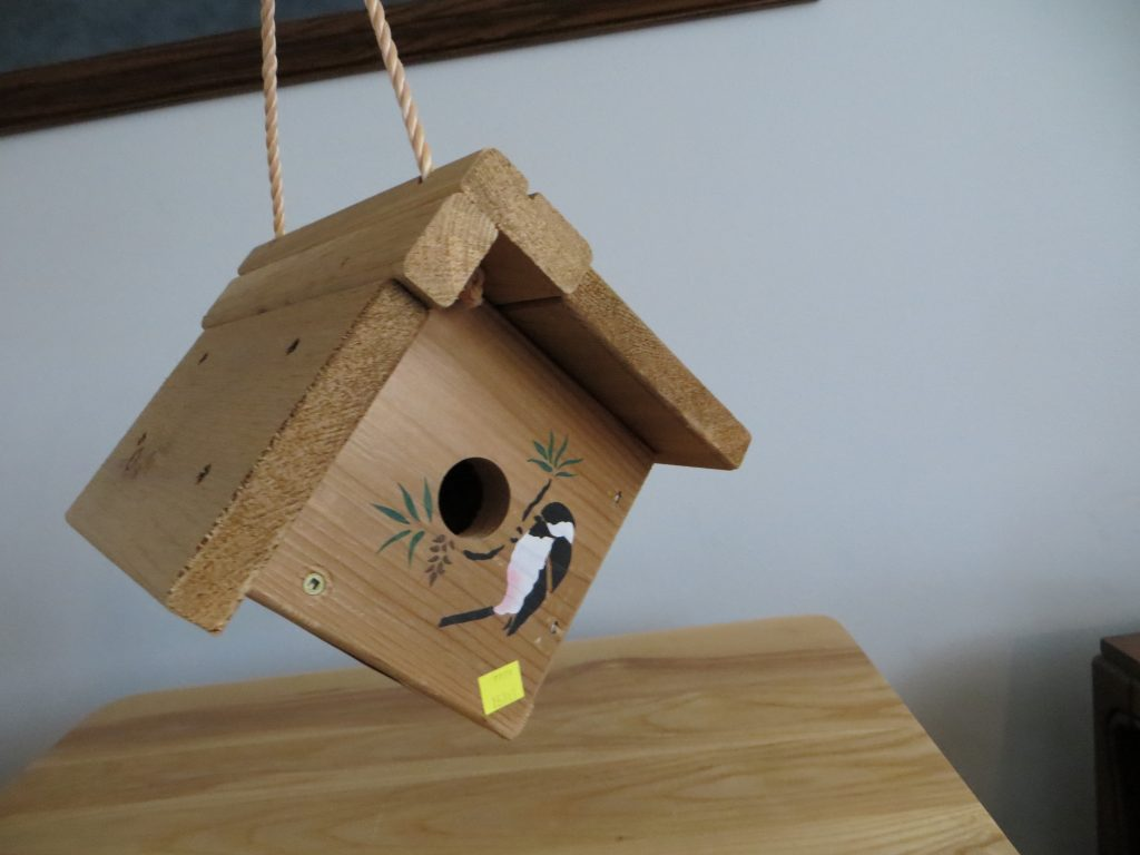 Chickadee Bird House by Prairie Farm Supply