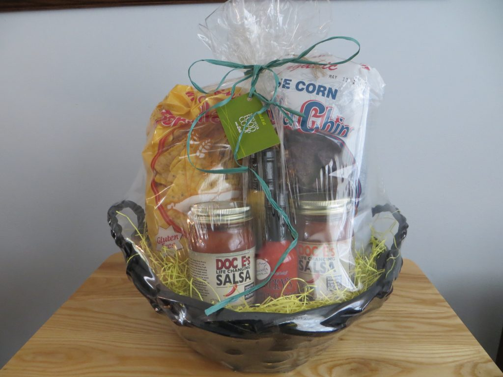 Chips & Salsa Gift Basket by St Peter Food Co-op