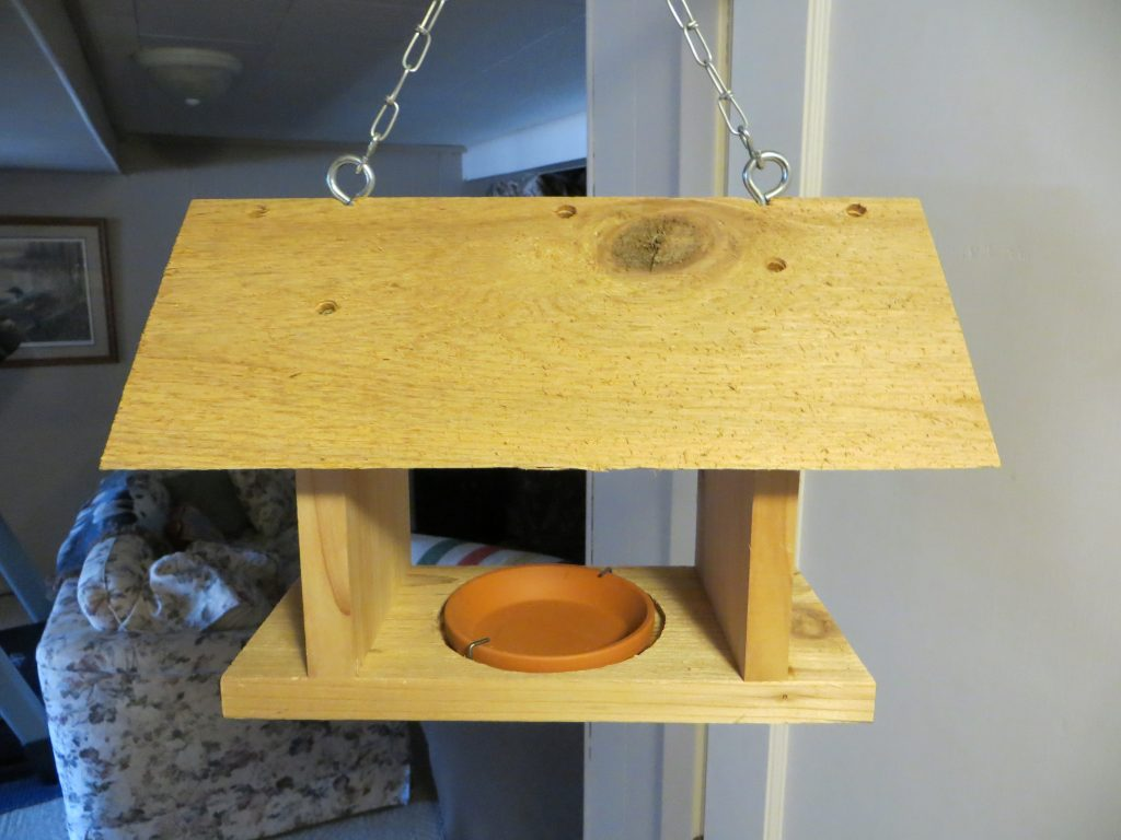 Grape Jelly Bird Feeder