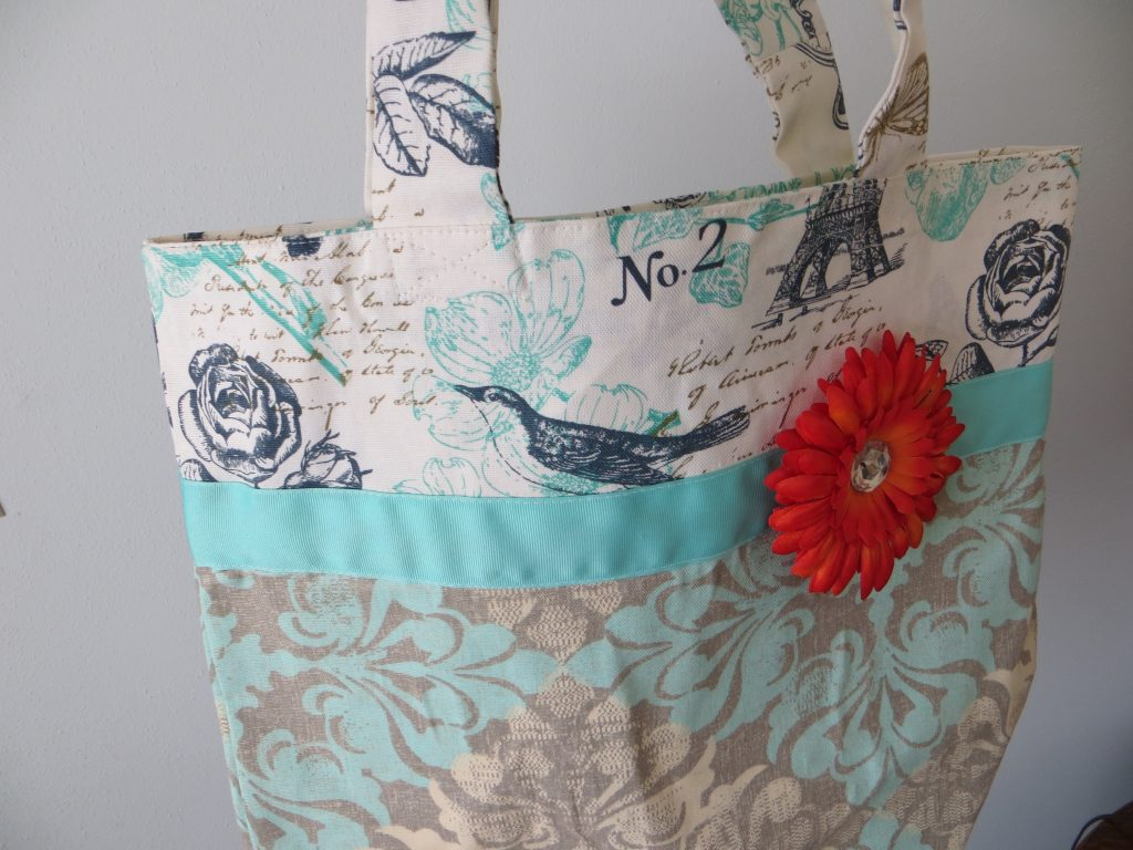 Handmade Tote Bag by Peg Longhenry