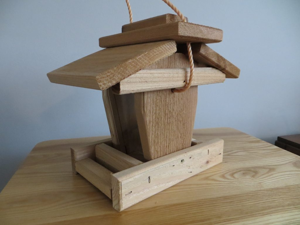 Hanging Bird Feeder by Prairie Farm Supply