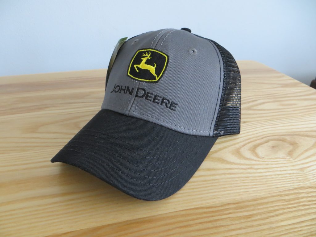 John Deere Charcoal:Black Trucker Cap by Ag Power Enterprises, Inc.