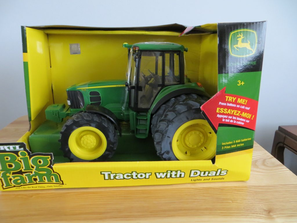 John Deere Model 7430 Toy Tractor With Duals by Ag Power Enterprises, Inc.