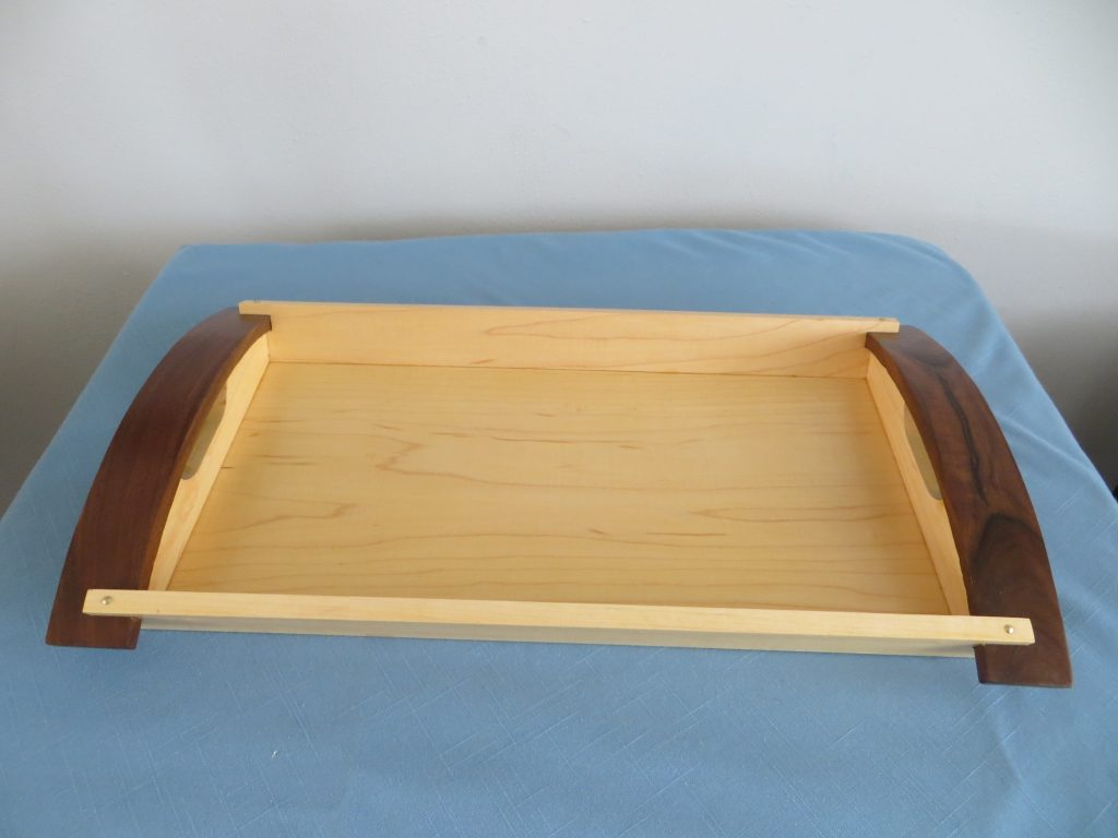 Maple Serving Tray Handcrafted by Ollie Heitkamp