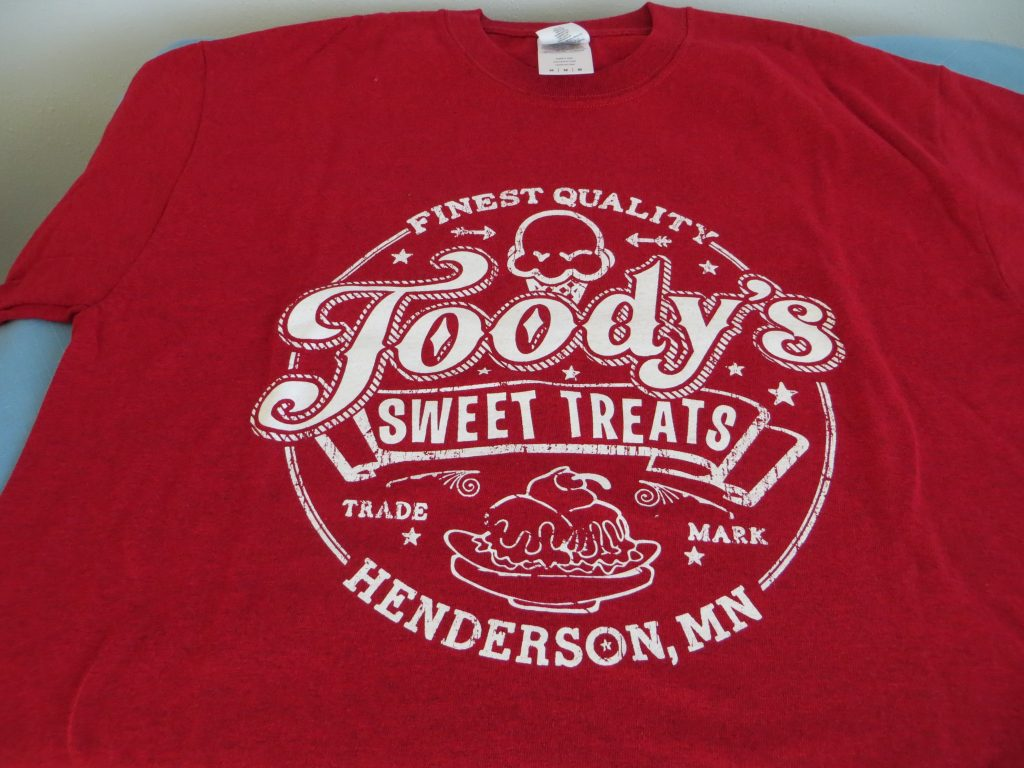 Toody's Sweet Treats T-Shirt (M) by Toody's Sweet Treats