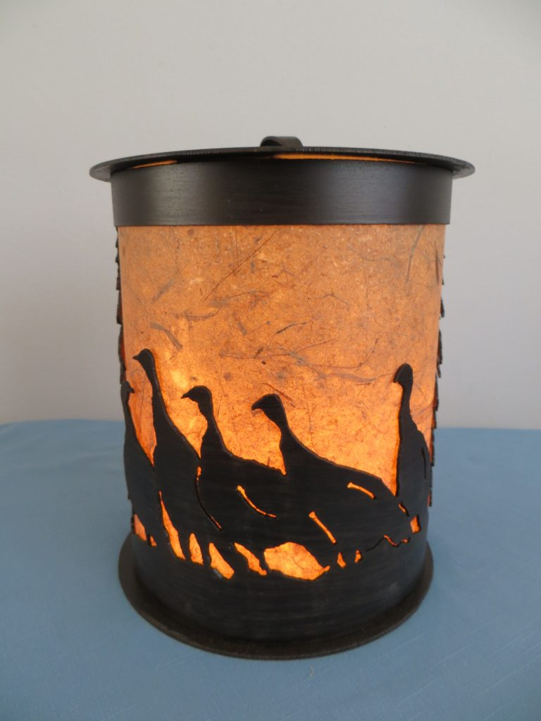 Turkey Lamp by Jim Legg & Mary Dvorak