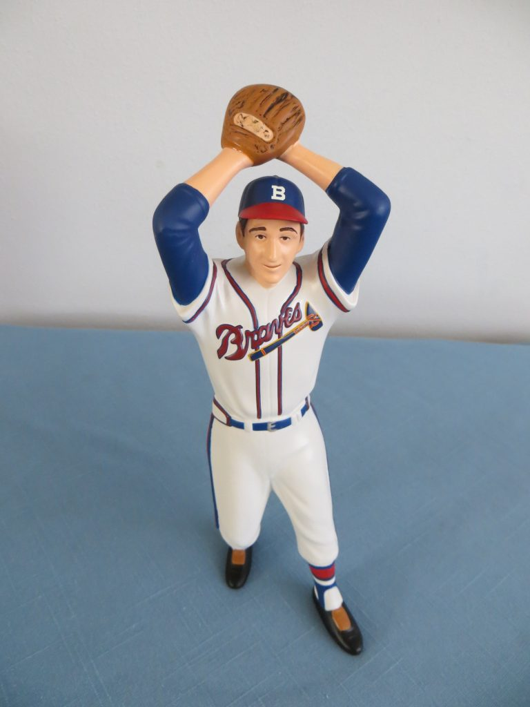 Warren Spahn Collectible Statue By Cornerstone Advisors